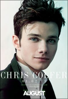 Chris Colfer for August Man Malaysia February issue