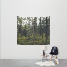 Alaska Trees Wall Tapestry by Memoirnova. Worldwide shipping available at Society6.com. Just one of millions of high quality products available.