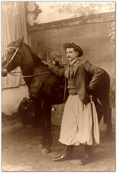 fotos antiguas de gauchos argentinos