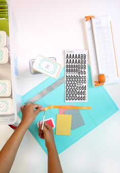 Craftroom in a box featuring the Tri-Fold Magnetic Mat from @wermemorykeepers by @damasklove