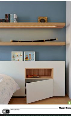 Trendy room decor ideas for teens shelves 43 Ideas Bedroom Cupboard Designs, Bedroom Cupboards, Home Bedroom, Master Bedroom, Mirror Bedroom, Modern Bedroom, Bedrooms, Bed Design, House Design