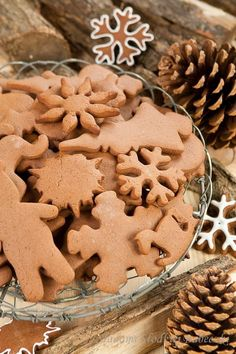 Indispensable element of Christmas, ginger - fragrant and very, very tasty! Gingerbread Man, Gingerbread Cookies, Gingerbread Recipes, Sweet Cupcakes, Spice Cookies, Pavlova, Bon Appetit, Muffins, Merry Christmas