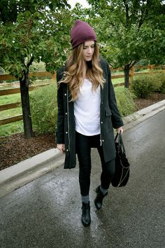 cold fall day outfit