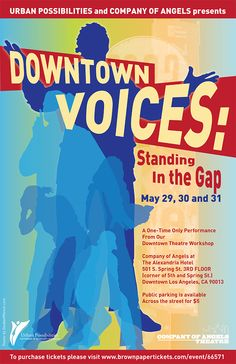 Downtown Voices Poster