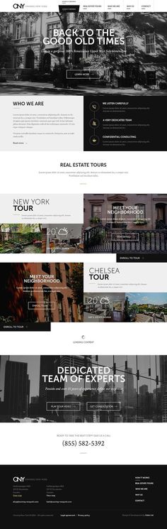 Finally, a website design for the real estate agency that is swoon-worthy!
