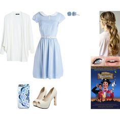 How To Wear Disney Music Challenge Day 14 Outfit Idea 2017 - Fashion Trends Ready To Wear For Plus Size, Curvy Women Over 20, 30, 40, 50