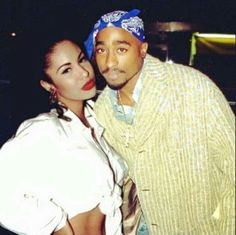 Selena & 2 Pac: both lived different lifestyles but both were shot to death.  Selena was killed about a year before him.  They're both gone, God Bless the Dead.
