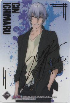 Gin Ichimaru Fact : Gin in Japanese means Silver. Sad Anime, I Love Anime, Anime Guys, Manga Anime, Anime Art, Bleach Fanart, Bleach Anime, Gin Bleach, Ichimaru Gin