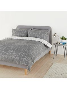97a4d5487d3 BuyHouse by John Lewis Elevation Duvet Cover and Pillowcase Set