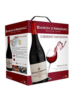 Baron d'Arignac Colombard - wine in a bag and a great choice when you get 5L of the stuff :)