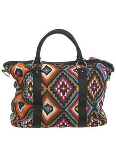 Aztec Overnight Bag - cute and a good price!