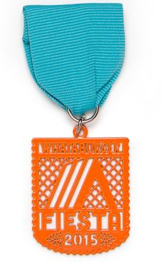 Whata-Medal! 2015 Whataburger Fiesta Medal available in blue, pink and purple