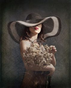 flowers hat