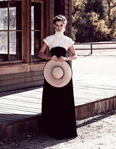 Leçon de style d'une cowgirl chic - Elle