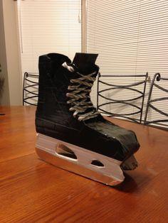 Hockey skate Valentine box