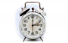 Download wallpapers old alarm clock, time concepts, rusty clock, dial, clock hands