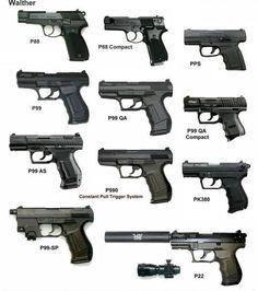 Pistolas Walther (Alemania)