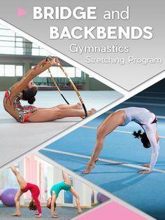 Gymnastics Bridge and Backbends Stretching Program Flexibility Training Program, Stretching Program, Gymnastics Workout, Handstand, Fast Fat Burning Workout, Gymnastics Flexibility, Yoga For Balance, Different Types Of Yoga, Handstands