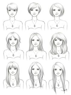 Hair growth chart. I keep having to search for this because I never actually pin it!