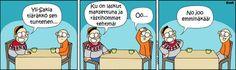 Tiäräkkö sen tuntehen? Finland, Peanuts Comics