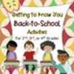 My First Back to School Linky Party