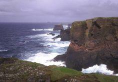 Scottish Islands - Eshaness, West coast of mainland Shetland