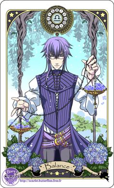 Astrology deck card: Libra by =Bory-Einfrost on deviantART