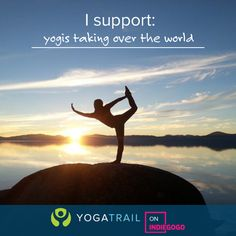 **VISIT OUR PAGE ON INDIEGOGO** (click through) Help us build the World's Yoga Network! Grab some great perks and a chance to do your Teacher Training for Free!