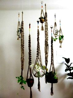 Make it rain. With hanging planters.