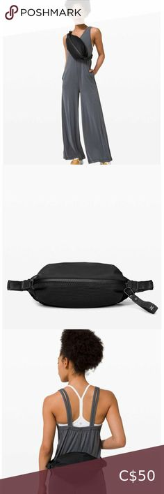 Lululemon All Hours Belt Bag NWT This sleek crossbody bag has the capacity to hold your daily essentials while leaving plenty of room for big-city adventures Fabric is water-repellent and easy to wipe clean Designed for - On the Move Compression straps allow you to adjust the volume Adjustable shoulder strap with secure quick-release construction so you can remove the bag quickly without dropping it Secure your stuff in the exterior zippered pocket Internal pocket Dimensions: 27cm x 16.5cm x… Yoga Bag, Chain Crossbody Bag, Stella Mccartney Adidas, Plus Fashion, Fashion Tips, Fashion Trends, Knit Cardigan, Shoulder Strap, Lululemon
