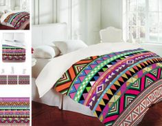 Bianca Green Overdose Duvet Cover! where was this when I was shopping??