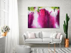 Original XXL abstrakte Kunst extra große Gemälde von ARTbyKirsten