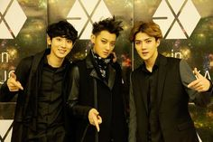 Chanyeol, Tao, Sehun