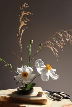 Japanese Flowers, Japanese Art, Japanese Culture, Japanese Style, Ikebana Flower Arrangement, Floral Arrangements, Pretty Cross Tattoo, Finding A New Hobby, Ritual Bath