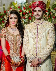 Weddings Discover A Starry Wedding: Ayeza Danish Pakistani Bridal Makeup, Pakistani Wedding Dresses, Indian Bridal, Pakistan Bride, Pakistan Wedding, Aiza Khan Wedding, Pakistani Models, Pakistani Actress, Pakistani Dramas