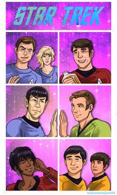 Star Trek TOS by TechnoRanma.deviantart.com on @deviantART