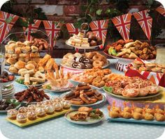Great Traditional British Party Food.  Because I like all things British......, ,