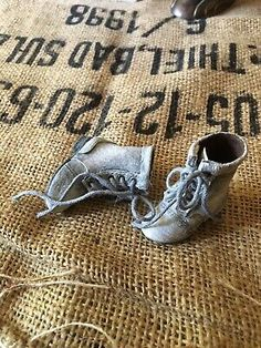 BJD Doll OOAK Doll Shoes Boots Grey Distressed Leather Vintage Look  | eBay Party Dress Outfits, Doll Shoes, Distressed Leather, Ooak Dolls, Doll Accessories, Vintage Looks, Fashion Dolls, Doll Clothes, Shoe Boots