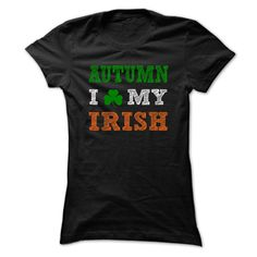 (New Tshirt Design) AUTUMN STPATRICK DAY 0399 Cool Name Shirt Discount 5% Hoodies Tee Shirts