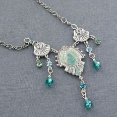 Sadie Green's Victorian Necklace in Silver
