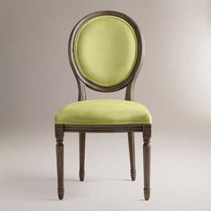 One of my favorite discoveries at WorldMarket.com: Lime Ella Side Chairs,Comfy so you can eat more Turkey Set of 2 #Fall Refresh Pin It