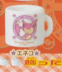 Nintendo-BANDAI-Pokemon-AG-Mini-Glass-Mug-Tea-Cup-Skitty-gashapon