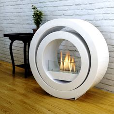 Costco UK - Imagin Fires Sphere Bio-Ethanol Real Flame Fireplace + 6 x 1L Bottle of Fuel