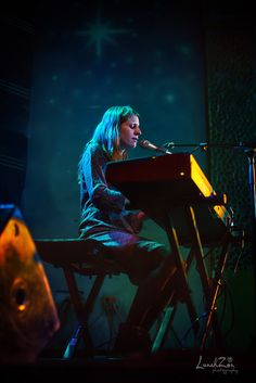 """The Only Map You Need Is Love..""  Markéta Irglová - Charlotte NC, Visulite Theatre 10-14-14 #marketairglova #concert #livemusic"
