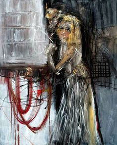 Michael Hafftka - husband and wife Illustration Art, Bible, Husband, Artist, Painting, Contemporary, Paint, Kunst, Biblia