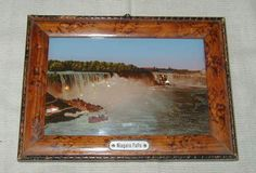 1 of 5: OLD SOUVENIR PICTURE OF NIAGARA FALLS, GENERAL VIEW, CANADA, MICA ADDED?!