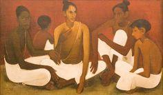 Amrita Sher-Gil | Indian Modern Artist | Oil Paintings | Miniature Paintings