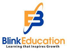 Blink Education Logo winner