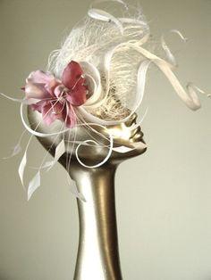 Wind blown #hat #fascinator