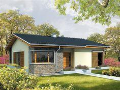 Projekt domu Bob 115,7 m2 - koszt budowy 179 tys. zł - EXTRADOM